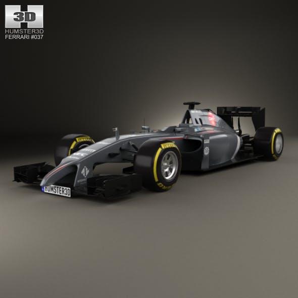 Sauber C33 2014