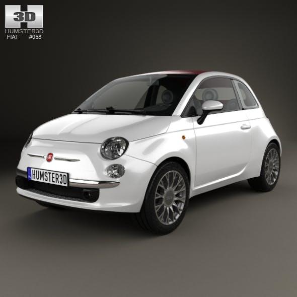 Fiat 500 C 2009