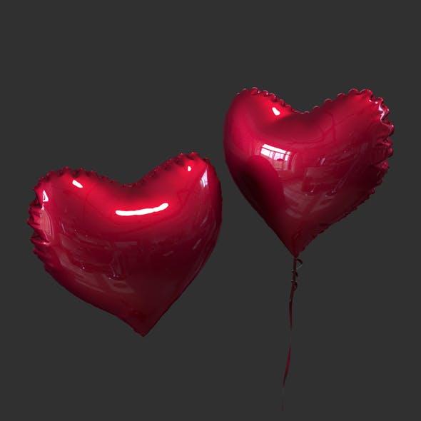 Balloon heart - 3DOcean Item for Sale