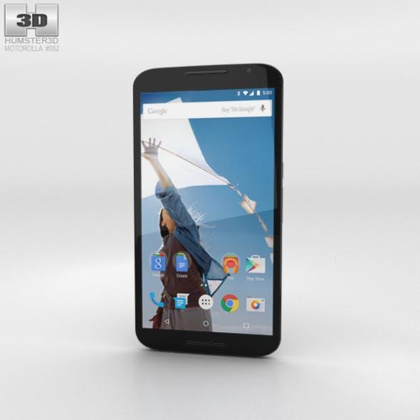 Motorola Nexus 6 Midnight Blue - 3DOcean Item for Sale