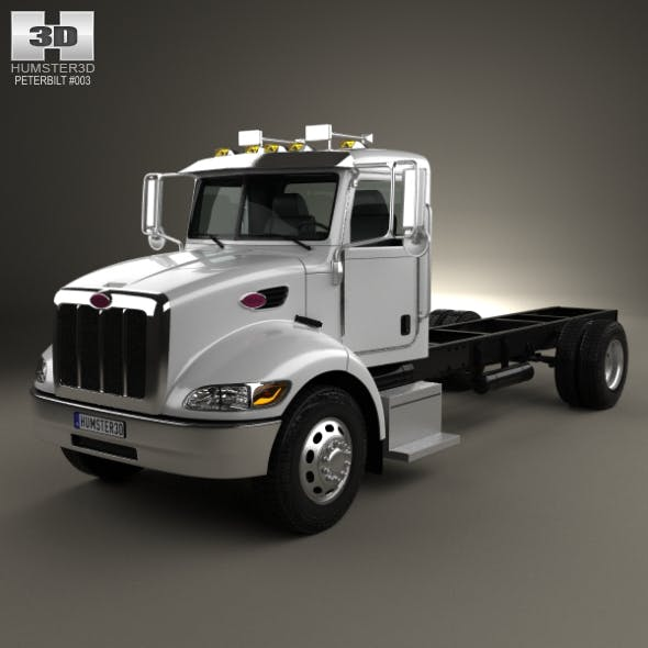 Peterbilt 337 Chassis Truck 2-axle 2006 - 3DOcean Item for Sale