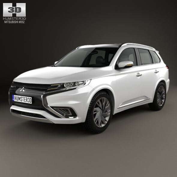 Mitsubishi Outlander PHEV S 2014 - 3DOcean Item for Sale