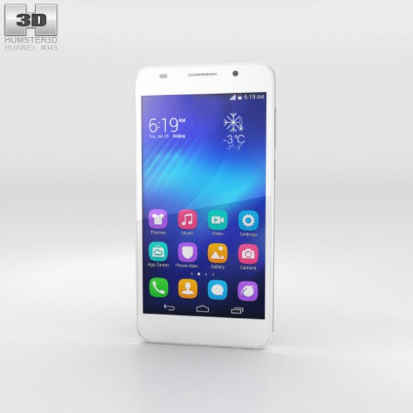 Huawei Honor 6 White - 3DOcean Item for Sale