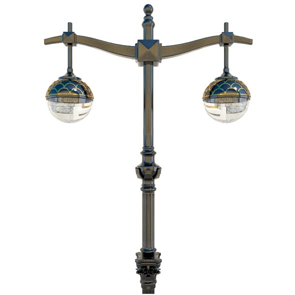 Old lamppost - 3DOcean Item for Sale