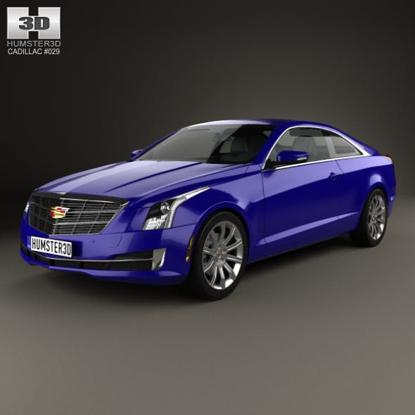 Cadillac ATS coupe 2015 - 3DOcean Item for Sale
