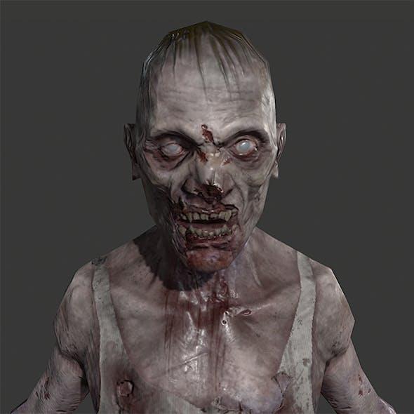 Lowpoly Zombie Guy