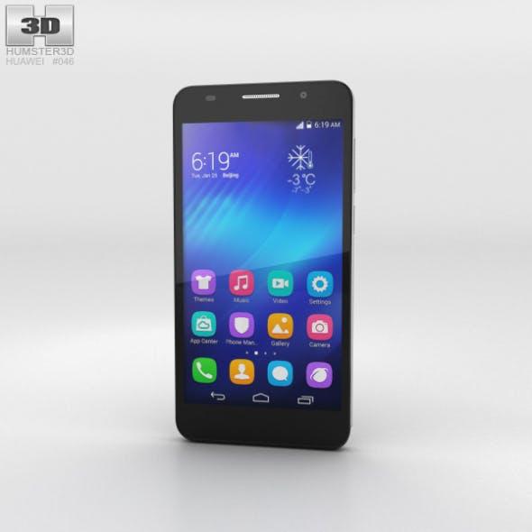 Huawei Honor 6 Black - 3DOcean Item for Sale