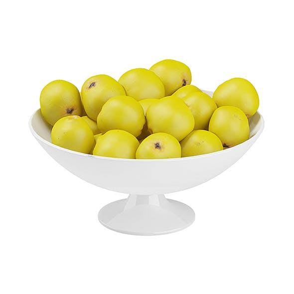 Bowl of Quince - 3DOcean Item for Sale