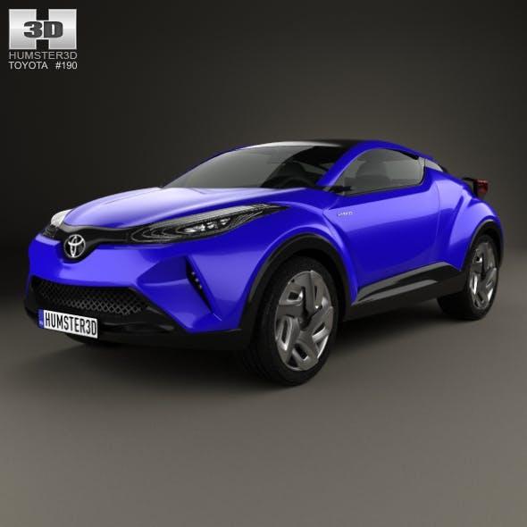 Toyota C-HR Concept 2014 - 3DOcean Item for Sale