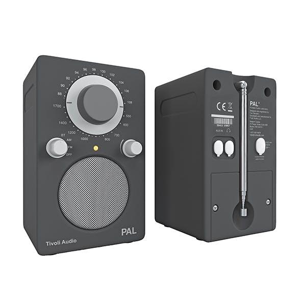 Tivoli Audio model PAL grey - 3DOcean Item for Sale