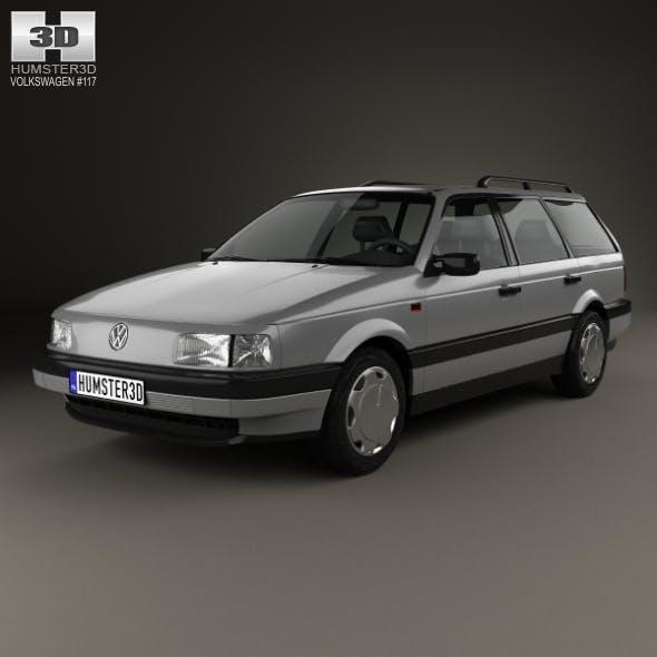 Volkswagen Passat (B3) variant 1988 - 3DOcean Item for Sale