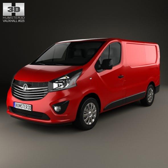 Vauxhall Vivaro Panel Van L1H1 2014 - 3DOcean Item for Sale