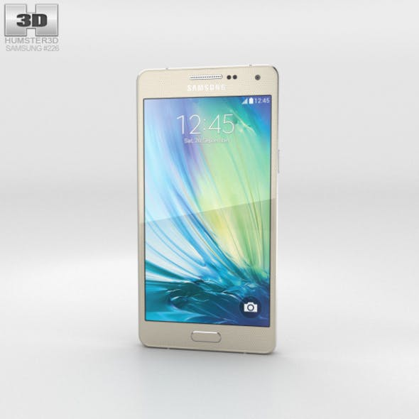 Samsung Galaxy A5 Champagne Gold - 3DOcean Item for Sale