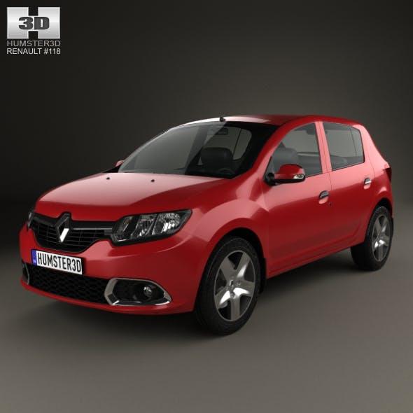 Renault Sandero (BR/RU) 2014 - 3DOcean Item for Sale
