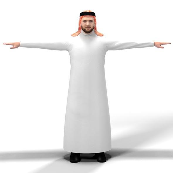 Arab Man - 3DOcean Item for Sale