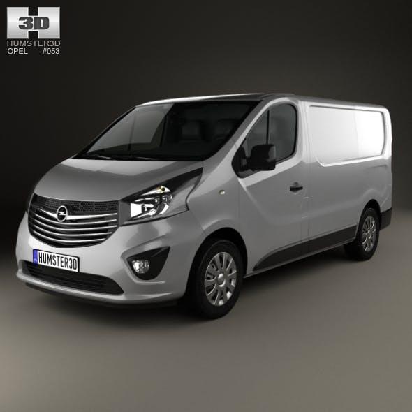 Opel Vivaro Panel Van L1H1 2014 - 3DOcean Item for Sale