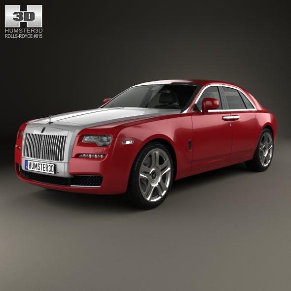 Rolls-Royce Ghost 2014 - 3DOcean Item for Sale