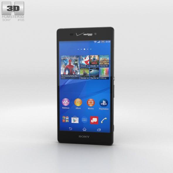 Sony Xperia Z3v Black - 3DOcean Item for Sale