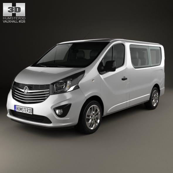 Vauxhall Vivaro Passenger Van L1H1 2014 - 3DOcean Item for Sale