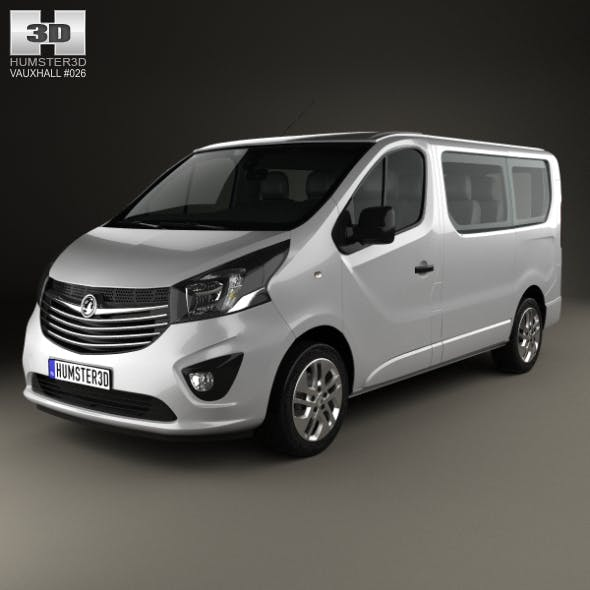 Vauxhall Vivaro Passenger Van L1H1 2014