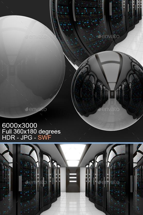 Server Room Interior HDRI - 3DOcean Item for Sale