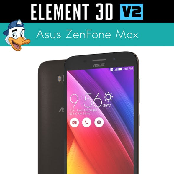 Asus ZenFone Max for Element 3D