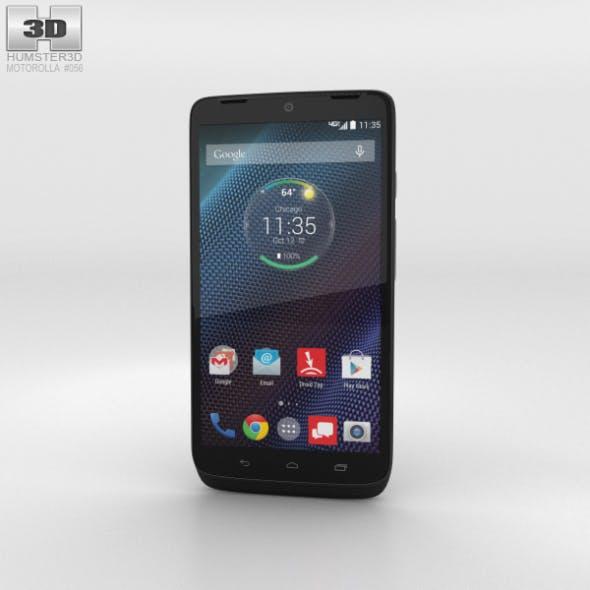 Motorola Moto Maxx Black Ballistic Nylon - 3DOcean Item for Sale