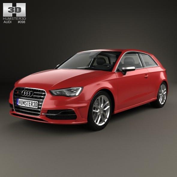 Audi S3 3-door 2014 - 3DOcean Item for Sale