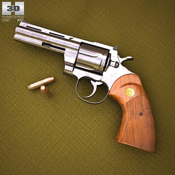 Colt Python - 3DOcean Item for Sale