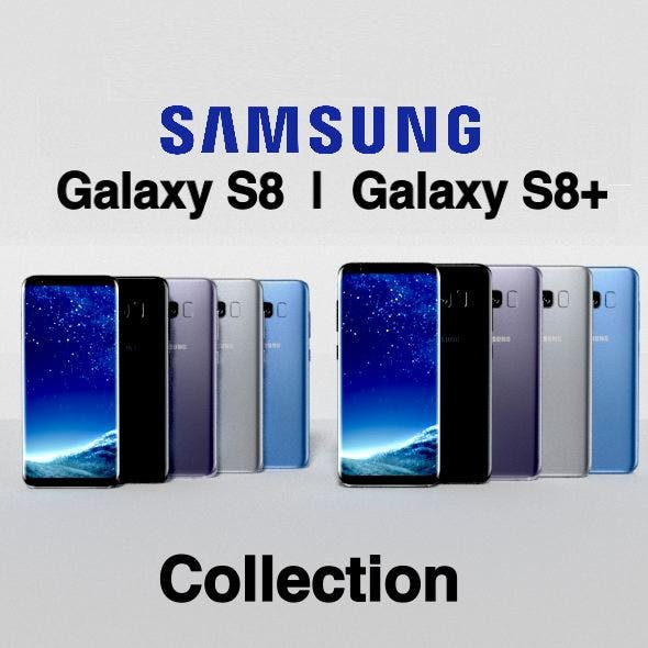 Samsung Galaxy S8 I S8+ Collection - 3DOcean Item for Sale