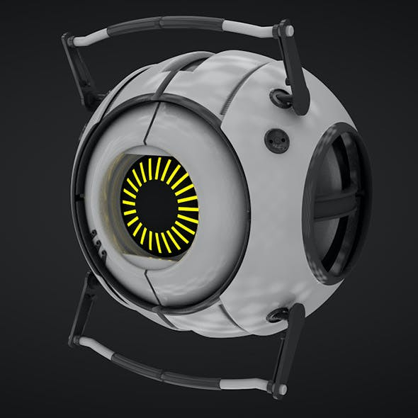 Wheatley - model game portal Full textures