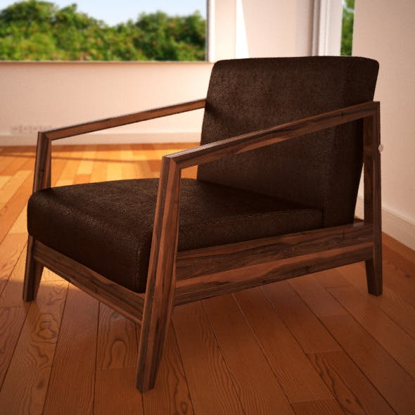 Realistic Chair - 3DOcean Item for Sale