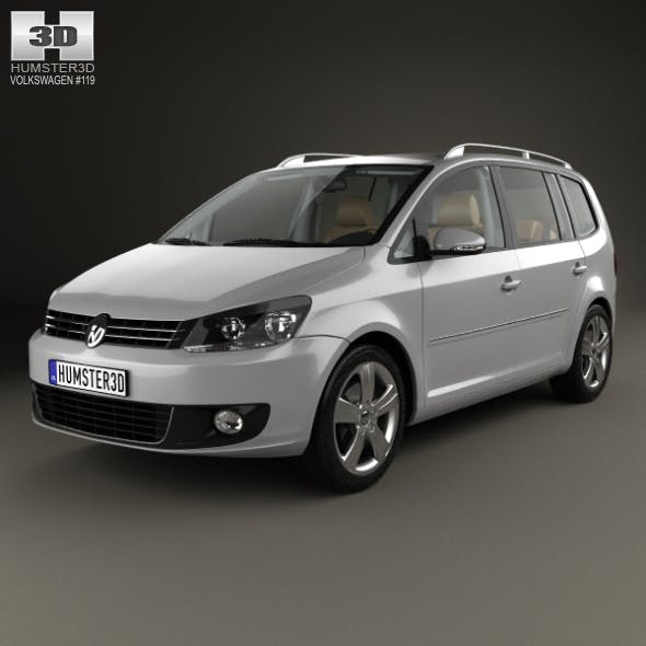 Volkswagen Touran with HQ interior 2010