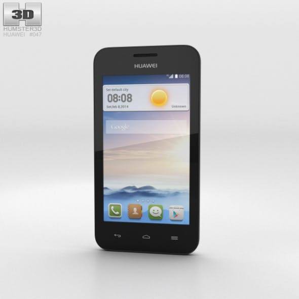 Huawei Ascend Y330 White - 3DOcean Item for Sale