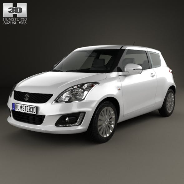Suzuki Swift hatchback 3-door 2014