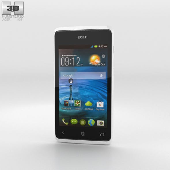 Acer Liquid Z200 Essential White