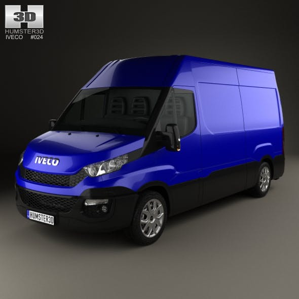 Iveco Daily Panel Van 2014 - 3DOcean Item for Sale