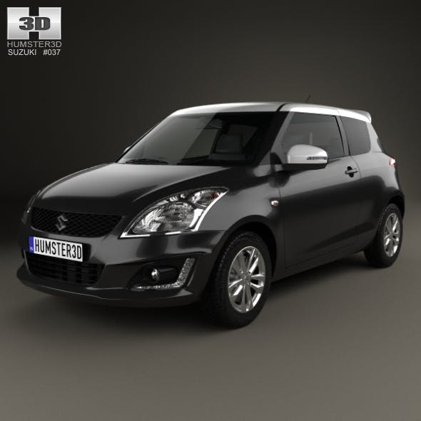 Suzuki Swift SZ-L hatchback 3-door 2014
