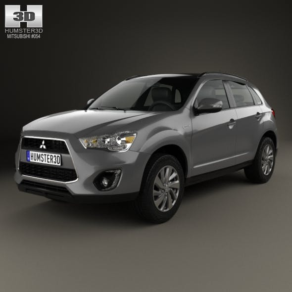 Mitsubishi ASX (RVR) 2013 - 3DOcean Item for Sale