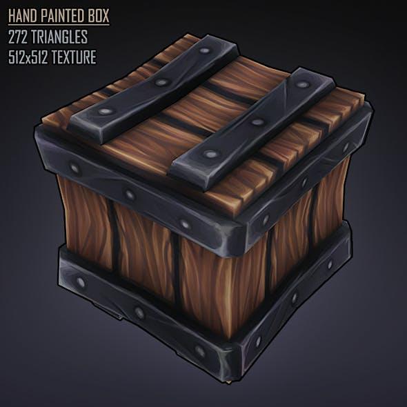 Hand Painted Stylised Box