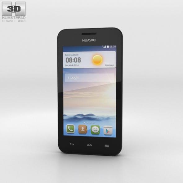 Huawei Ascend Y330 Black - 3DOcean Item for Sale