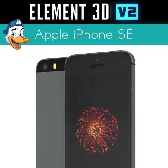 Apple iPhone SE for Element 3D
