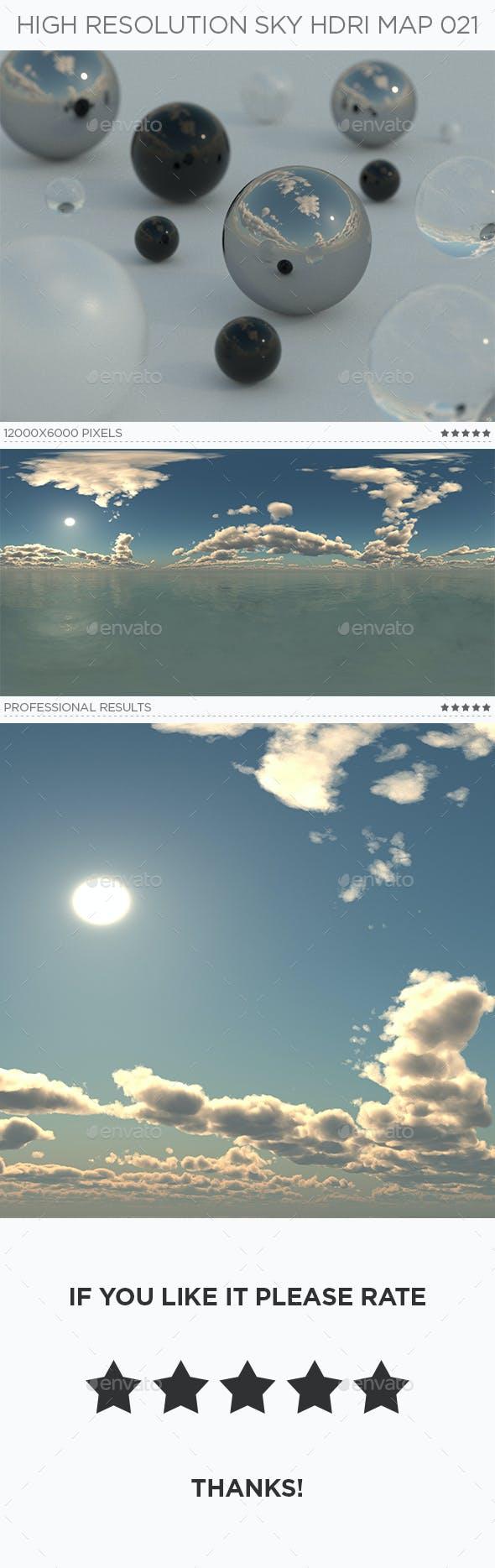 High Resolution Sky HDRi Map 021 - 3DOcean Item for Sale