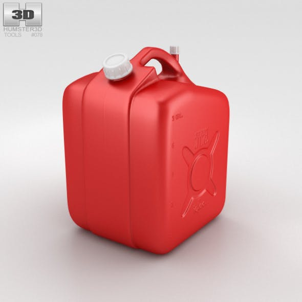 5 Gallon Jerry Can Fuel Tank