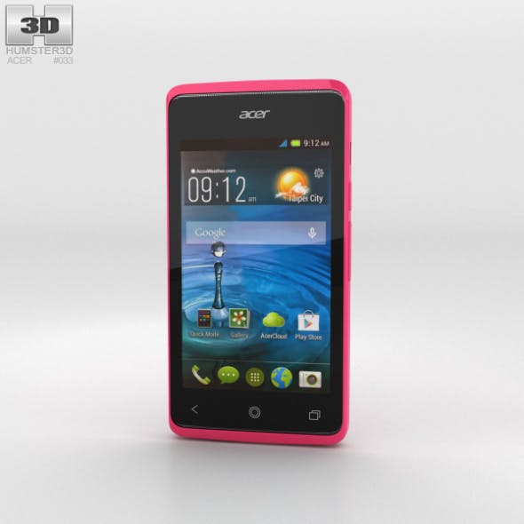 Acer Liquid Z200 Fragrant Pink