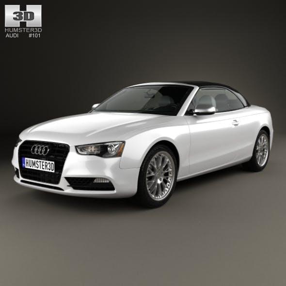 Audi A5 cabriolet 2012