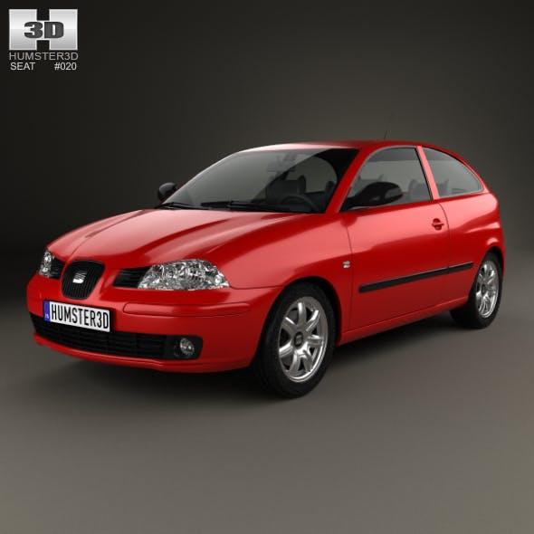 Seat Ibiza 3-door 2002 - 3DOcean Item for Sale