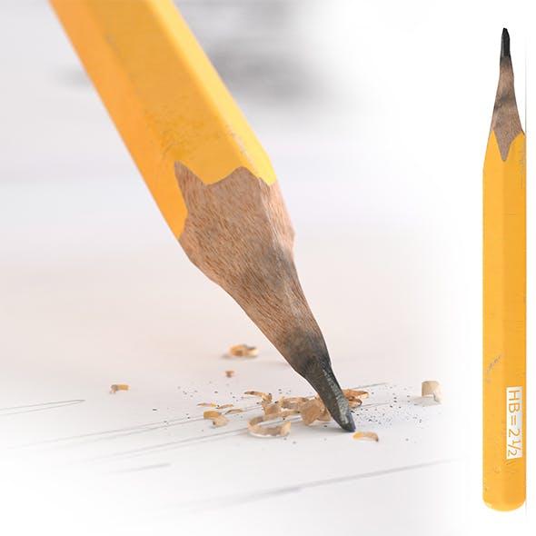 HD Old Pencil