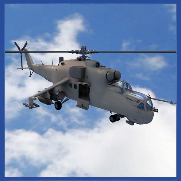 MI-24E helicopter