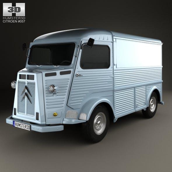 Citroen H Van 1964 - 3DOcean Item for Sale